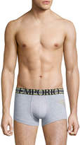 Emporio Armani Men's Athletic Big Eagle Trunks