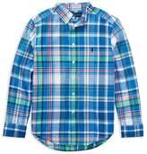 Polo Ralph Lauren Boys' Madras Shirt - Big Kid