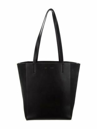 Celine Medium Bicolor Cabas Phantom Black