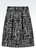 Emporio Armani Skirt In Stretch Jacquard