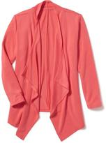 Old Navy French Terry Waterfall Cardi for Girls
