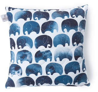 Oilo Studio Elephant Quilted Pillow