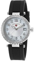 Swiss Legend Women's 16002SM-02 Sea Breeze Analog Display Swiss Quartz Black Watch