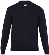 ÉDITIONS M.R Long-sleeved wool polo shirt
