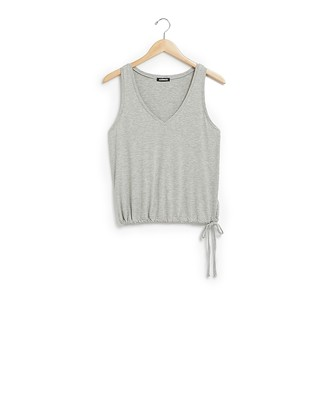 Express Cinched Side Tie Easy Tank