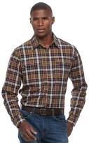 Croft & Barrow Men's Classic-Fit Roll-Tab Button-Down Shirt