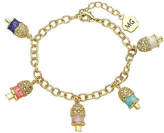 Little Miss Twin Stars Molly Glitz Sparkle Sweet 14K Enamel Bracelet