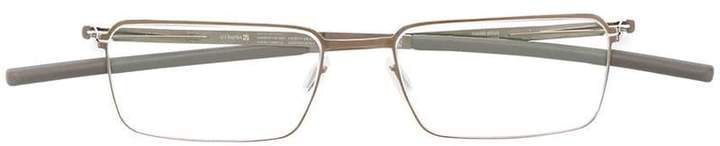 Ic! Berlin rectangle frame glasses