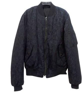 Diesel Black Gold Blue Wool Jacket for Women