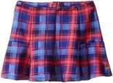 Tommy Hilfiger Plaid Printed Neoprene Skirt (Little Kids)