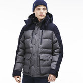 Lacoste Men's Two-tone Down Parka