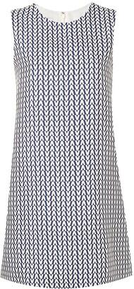Valentino V print dress