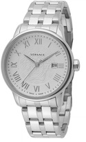 Versace Business Collection VQS040015 Men's Stainless Steel Quartz Watch