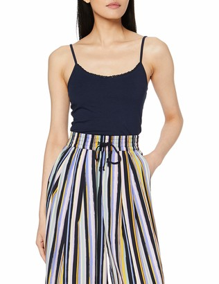 Tom Tailor Women's Strap Top with Lace D S Vest