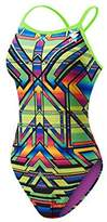 TYR Women's Sarape Crosscutfit Swimsuit-TSAR7A - Multi - 32