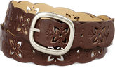 JCPenney RELIC Relic Butterfly Perforated Belt
