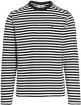 Thumbnail for your product : Ami Striped Long-Sleeve T-Shirt
