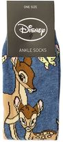 Bambi and mum ankle socks