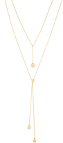Luv Aj Ivah Chain Lariat Necklace