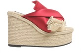 N°21 N21 Mule Sandals With Satin Bow