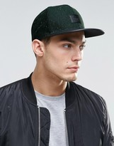 Asos Snapback Cap With Nep