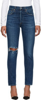 Citizens of Humanity Blue Liya High-Rise Classic Jeans
