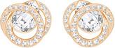 Swarovski Generation Pierced Earrings, White