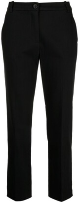 Pinko Tapered-Leg Cropped Trousers