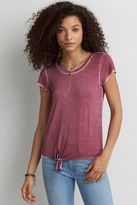 American Eagle Outfitters AE Tie Front T-Shirt