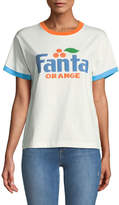 Marc Jacobs Fanta® Orange Short-Sleeve Crewneck Cotton T-Shirt