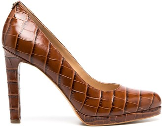 MICHAEL Michael Kors Crocodile-Effect High-Heel Pumps