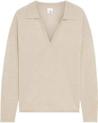 Iris & Ink Carrie Melange Cashmere Sweater