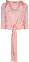 Balenciaga ruffle blouse