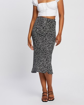 All About Eve Women's Black Midi Skirts - Alexandira Midi Skirt - Size One Size, 14 at The Iconic