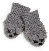 Stella McCartney Baby's Mopsy Organic Cotton-Cashmere Mittens