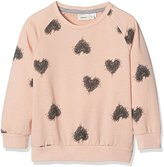 Name It Baby Girls' Nitvalba Ls Sweat F Mz G Sweatshirt