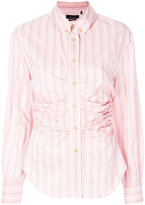Isabel Marant striped fitted shirt - women - Silk/Cotton/Cupro - 36