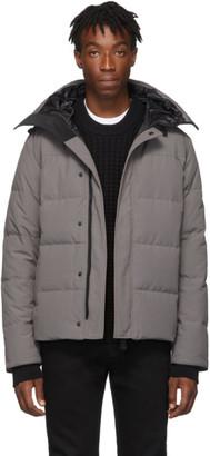Canada Goose Grey Black Label Macmillan Parka
