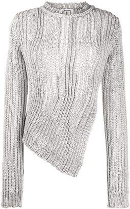 Acne Studios Asymmetric Knitted Jumper