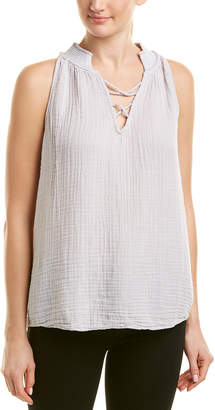 Michael Stars Embroidered Swing Tank