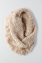 American Eagle Outfitters AE Marled Fringe Snood