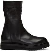Rick Owens Black Creeper Boots