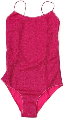 Oseree Maillot Lurex One-Piece Swimsuit