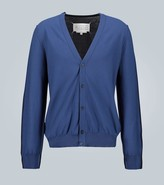 Maison Margiela Wool-cashmere blend cardigan