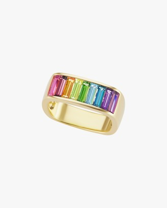 Jane Taylor Millinery Rainbow Gemstone Stacking Band