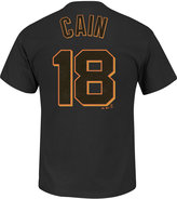 Majestic Men's Matt Cain San Francisco Giants Official Player T-Shirt