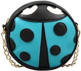 Mellow World Teal Ladybug Crossbody Bag - Girls