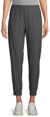Athletic Works Women's Athleisure Commuter Jogger Pants with Zip Pockets