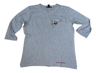 Louis Vuitton Grey Cotton Tops