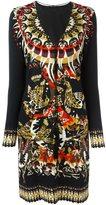 Roberto Cavalli ethnic motif dress